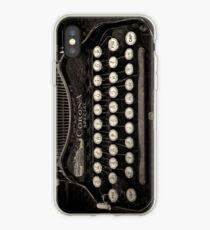 Vintage Typewriter Keyboard iPhone Case