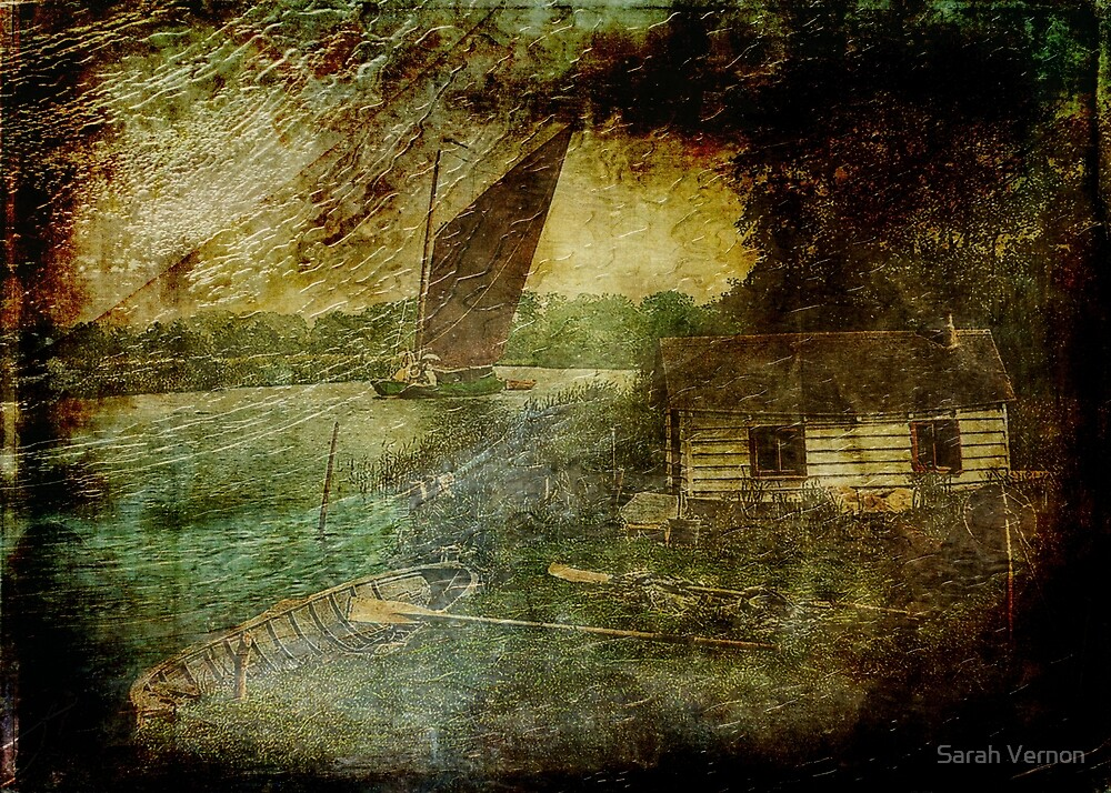 The Eel Fisher's Hut by Sarah Vernon