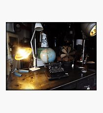 Office Supplies Photographic Print