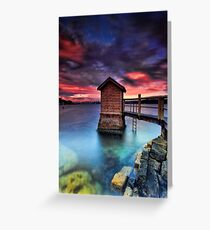 The Pump House Greeting Card