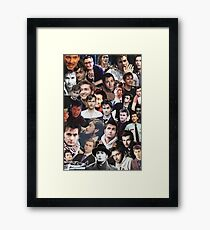 David Tennant Collage Framed Print