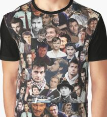 David Tennant Collage Graphic T-Shirt
