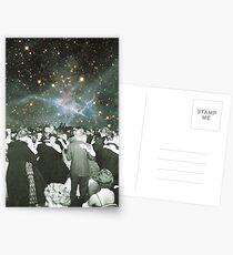 Tanzen unter den Sternen Postkarten