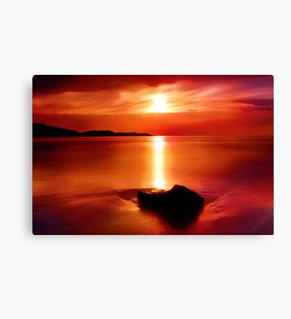 """Solitude At Sunrise"" Canvas Print"