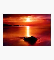 """Solitude At Sunrise"" Photographic Print"