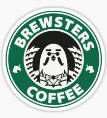 Brewsters Coffee Sticker