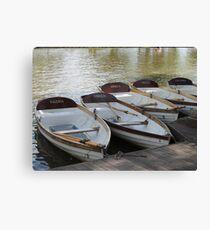 Stratford upon Avon boats Canvas Print