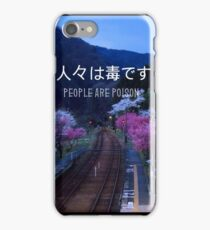 PHONE CASE // people are poison iPhone Case/Skin