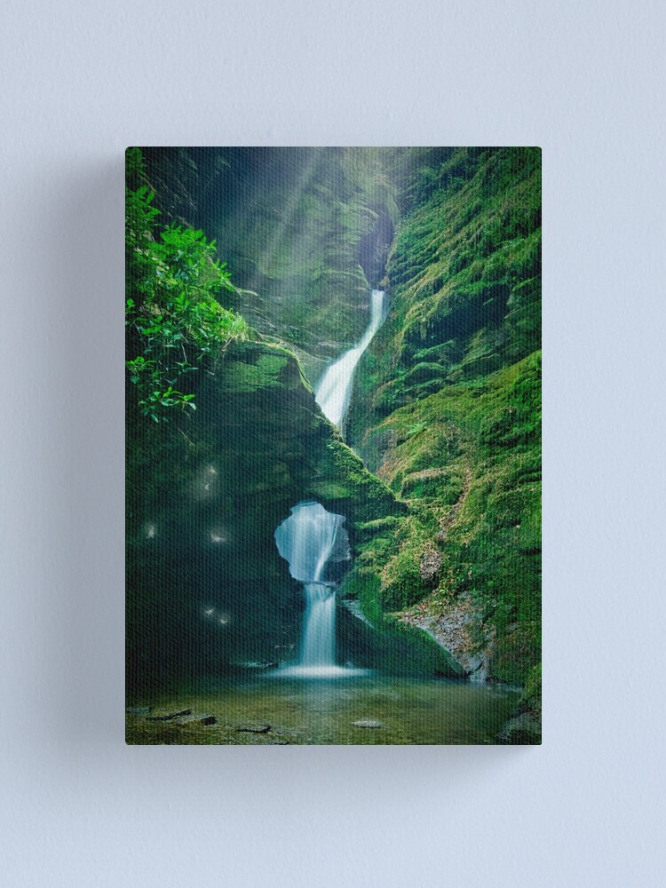 Alternate view of The Magical Glen Canvas Print