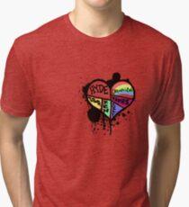L'Arc~en~FANDOM Tri-blend T-Shirt