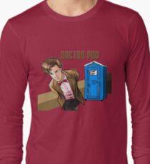 Doctor Poo Long Sleeve T-Shirt
