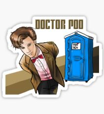 Doctor Poo Sticker