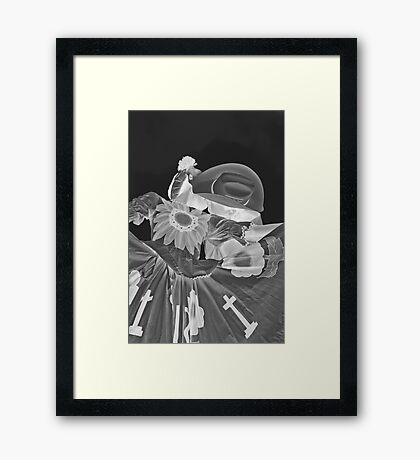 Passionate Dance Framed Print
