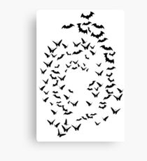 bats & butterflies  Canvas Print
