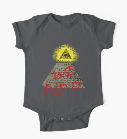 we did it (illuminati) Kids Clothes