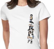 221B BAKERSTREET Womens Fitted T-Shirt