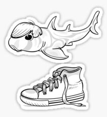 Bieber shark Sticker