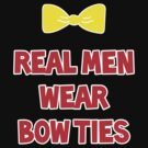 Real Men Wear Bow Ties - Mickey by magicalribbons