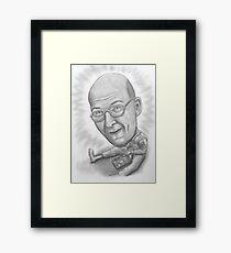 caricature Framed Print