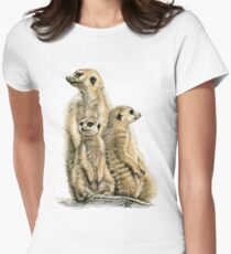 Meerkats Family - Die Erdmännchen Women's Fitted T-Shirt