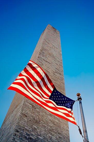 The Washington Monument, Washington DC by Ilker Goksen