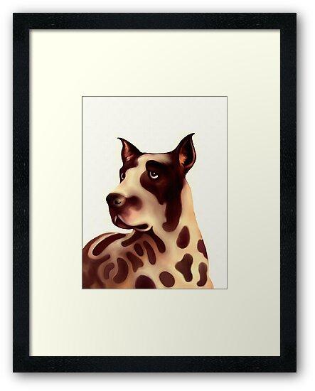 A Dog - Great dane by goldyparazi