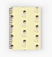 Wonwoo egg | Seventeen Spiral Notebook