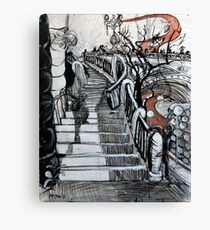 Stairs to Flinders Street (Ascending) Canvas Print