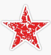 Red Star Vintage Sticker