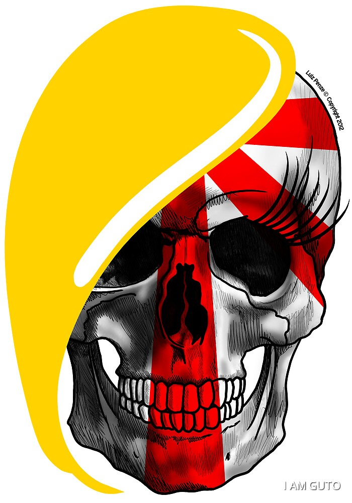 Blond skull! by Luiz  Penze