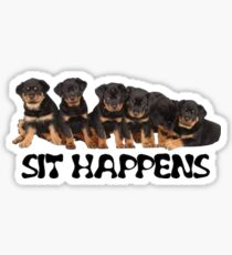 Sit Happens Sticker