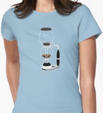 Coffee Monkey - Syphon Coffee Womens Fitted T-Shirt