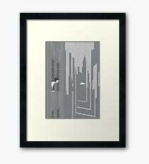 Paper Magic Framed Print