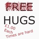 no more free hugs by IanByfordArt