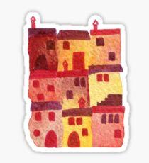 Tuscan Holiday Sticker