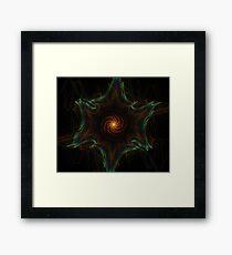 Space Fractal Framed Print