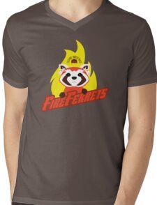 Future Industries Fire Ferrets Mens V-Neck T-Shirt