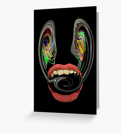 hungry  Greeting Card