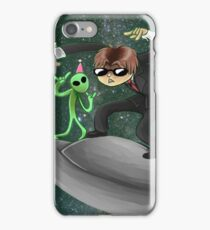 muffled fbi noises in hte distance iPhone Case/Skin