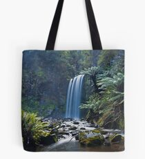 Hopetoun Falls Panorama Tote Bag