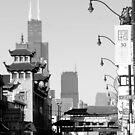 Chicago's Chinatown by William Dyckman