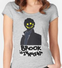 Sherlock Holmes was a Fake Women's Fitted Scoop T-Shirt
