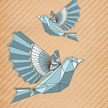 Geometric flight by hwiddy