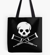 Try, try, try. Extreme sports SKULL Tote Bag