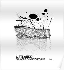 Wetlands (originally created for Bladensburg State Park, 2015) Poster