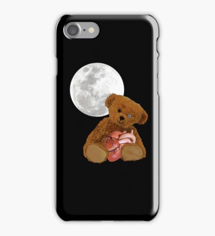bear with a heart iPhone Case/Skin
