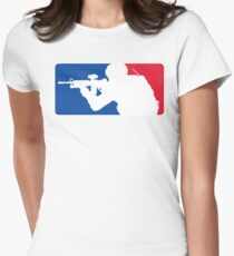 Major League Infantry Women's Fitted T-Shirt