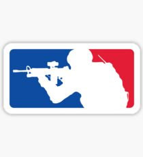 Major League Infantry Sticker