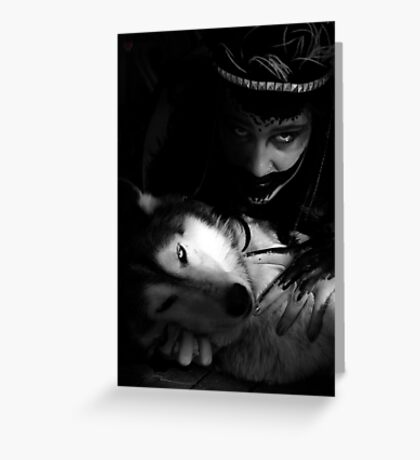partners in darkness Greeting Card