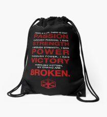 Code of the Sith Drawstring Bag